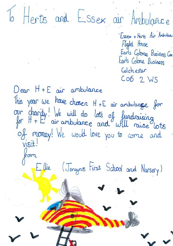 Nursery thank you letter