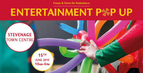 Entertainment Pop Up Stevenage