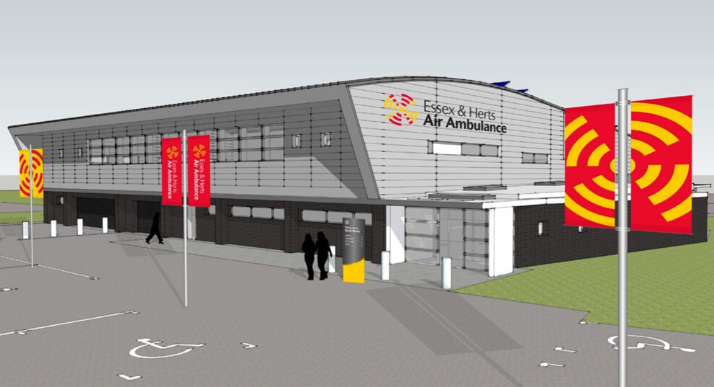 North Weald new airbase design