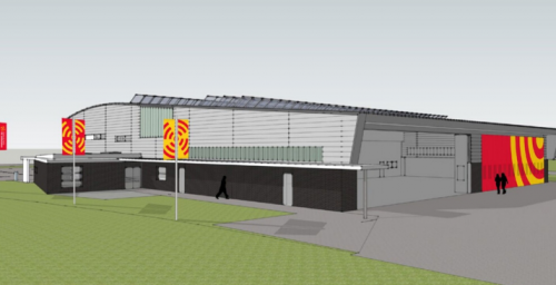 North Weald new airbase design view 2
